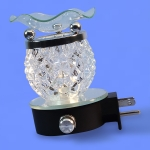 Electric Plug-In Oil Burners {Clear Crystal Shaped}