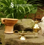 Brass Incense Burners for Rock  and Cone Incense  -