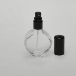 Watch 1/2 oz (15ml) Clear Glass Bottle with Fine Mist Spray Pumps