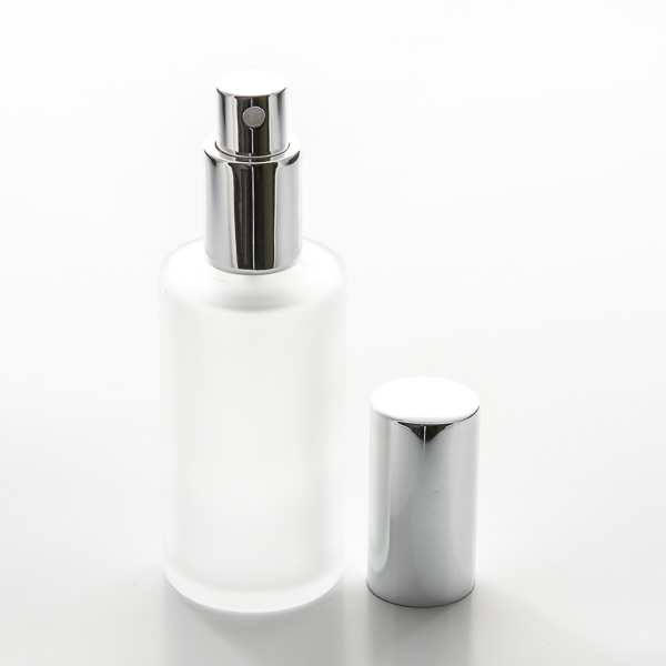 Frosted Cylinder 2 Oz Spray Bottle