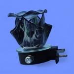 Electric Plug-In Oil Burners {Black Flame Shaped}