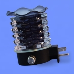 Electric Plug-In Oil Burners {Black Star Shaped}