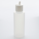 2 oz High Density Plastic with Natural-Flip Top